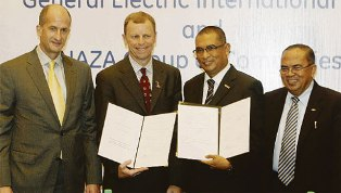 Naza and GE sign MOU which will boost EV and property businesses