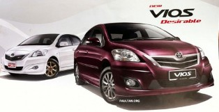 Toyota Vios 1.5G Limited available now