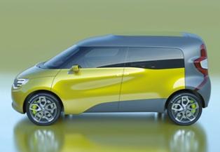 Renault previews their Transformer the Frendzy concept