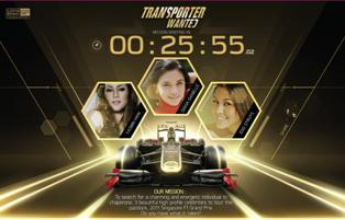 Win an all expense trip to accompany 3 beatiful celebrities to Singapore GP in Proton 'The Transporter' contest