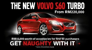 Get naughty with new Volvo CKD S60 T4 and T5 from RM220k