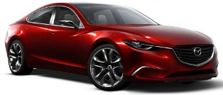 Mazda reveals the Mazda Takeri concept which will be what the Mazda6 be based on