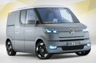 Volkswagen puts out the eT! the perfect car for the postman