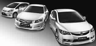 Honda M'sia launches the Concept M series with Jazz, Civic and Accord