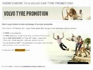 Volvo Malaysia launches tyre promotion, grab your new tyres today