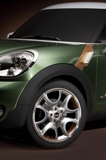 Mini to debut Paceman Concept in upcoming Detroit Motor Show
