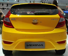 Hyundai launches the 5 door Verna hatch for China only