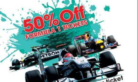 SIC extends 50% discounts promotion for next year's F1