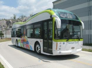 Seoul becomes first city to use electric bus for commercial purpose