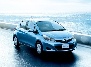Toyota launches third generation Toyota Vitz (or Yaris) for the Japan market