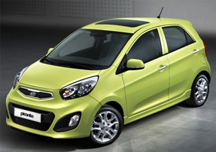 Kia to showcase 2012 Picanto at Geneva