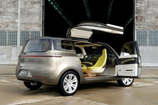 Kia KV7 Cioncept – Minivan with gullwing doors? Believe…