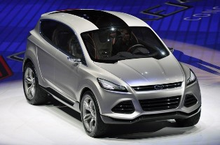 Ford Vertrek Concept, production version most likely to replace the Ford Escape