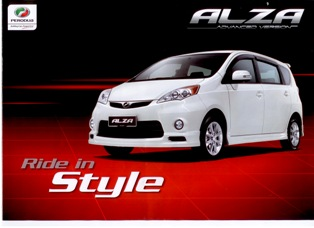 Perodua to launch 500 units of Alza Exclusive Edition