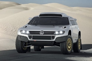 Volkswagen unveils the street legal VW Race Touareg 3 Qatar Concept