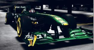 Team Lotus rolls out new car, targeting midfield finish