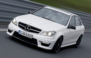 New facelift version for the W204 Mercedes-Benz C63 AMG