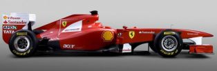 Nothing new in Ferrari's new livery, except the F160 engine