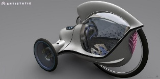 The Citroen E-3POD Antistatic Concept – the way of the future surely?