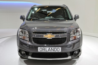 7 seateer Chevrolet Orlando to be launched in second half