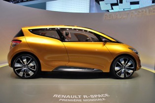 Renault's new MPV concept, the Renault R-Space