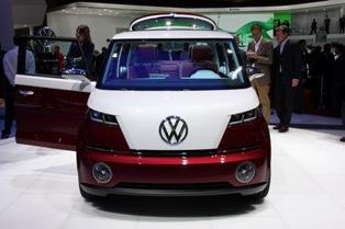 Volkswagen Bulli Concept brings back Woodstock memories