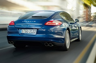 Porsche rolls out the Panamera S Hybrid – the most efficient Porsche ever