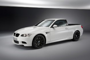 The BMW M3 Pickup – Lots of space in a fast car body