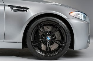 BMW shows of F10 Concept M5 in Shanghai