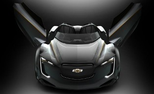 GM draws inspiration from sports car heritage with new Chevrolet Mi-ray Concept