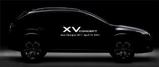 Subaru to show off the new Subaru XV concept in Shanghai
