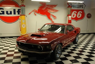 Rare finds – the race winning 1969 Ford Mustang 429