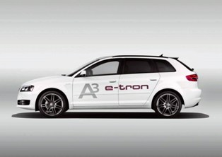 Audi rolls out the A3 inspired Electric Vehicle Audi A3 e-tron