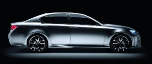 Lexus unveils new design language in LF-Gh Hybrid