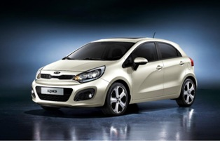 Kia shows off new Kia 2012 Rio