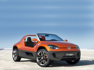 Volkswagen Buggy Up! concept brings the fun from the beaches