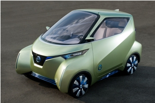 Nissan Pivo Concept surely get the heads turning