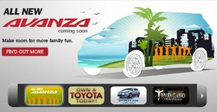 New Toyota Avanza to be introduced in Malaysia soon