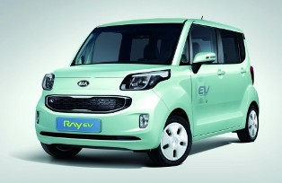 Kia releases first production EV, the Kia Ray EV