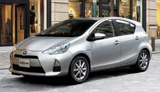 Toyota Japan launches the new Toyota Aqua hybrid