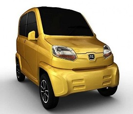 Bajaj RE60 is slimmer and smaller than the Tata Nano