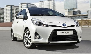 Toyota unveils official images of the upcoming Toyota Yaris Hybrid