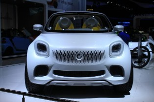 smart for-us concept – smart shows of the modern urban pickup vehicle