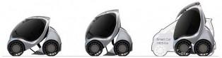 Hiriko EV – the foldable electric car