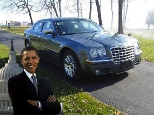 US President Barack Obama's former Chrysler 300C for sale for US$1m on eBay