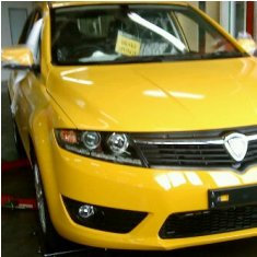 Dr M test drives the new Proton Tuah? and said will be launched in 3 month's time
