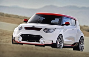 Kia Track'ster concept is an AWD, 250-hp turbocharged vehicle made for racing