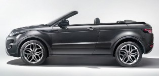 Range Rover Evoque to get the Convertible Concept in Geneva