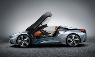 BMW i8 to go topless through the i8 Spyder concept in Beijing