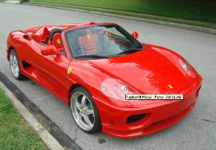 Now you can own a Ferrari 360 Modena Spider Based on the Toyota MR2 on eBay